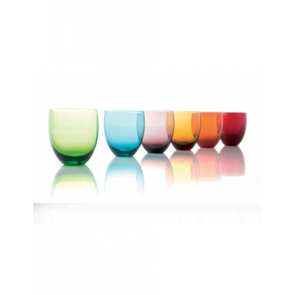 Assorted color glasses