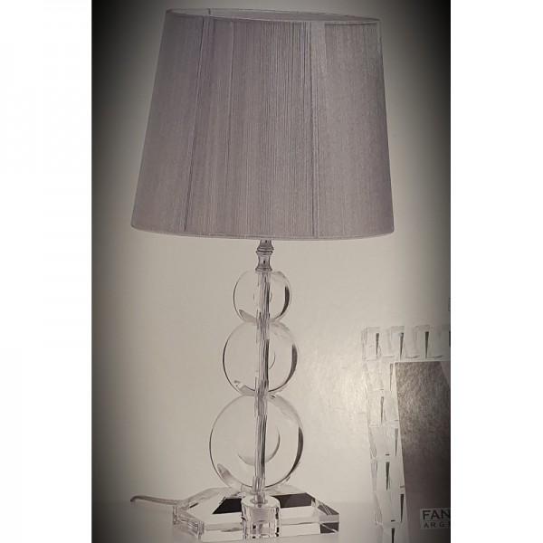 lampada cristallo cerchi